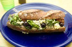 bread peddler. tuna. sandwich.