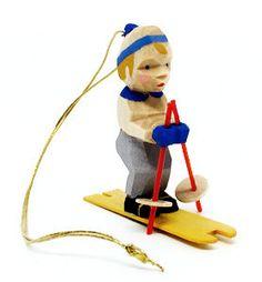 Skier - Ornament