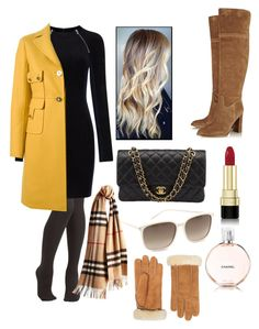 """""""Sem título #336"""" by maria-schmutz ❤ liked on Polyvore featuring T By Alexander Wang, Valentino, Dolce&Gabbana, Yves Saint Laurent, Chanel, Burberry, UGG Australia, MICHAEL Michael Kors, women's clothing and women"""