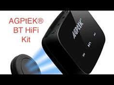 AGPtEK® HiFi Multi function Bluetooth 4.1 receiver.
