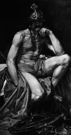 Untitled (After Velazquez, Mars 1640 -