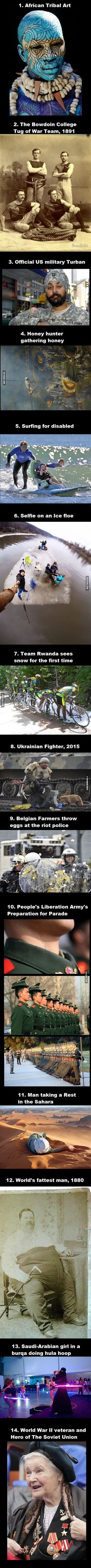 Collection of interesting pictures I found over the years, Part 29: People IV - 9GAG