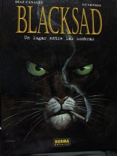 """""""Blacksad"""" de Díaz Canales y Guarnido. Norma editorial. 2004"""