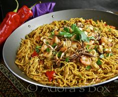CATALAN FIDEUA - Note: These are the fideo noodles the Anthony's consumer purchases.