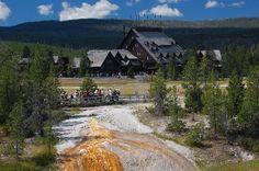 Old Faithful Inn, Yellow Stone National Park
