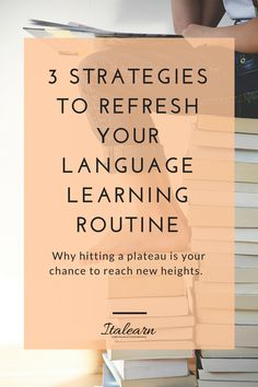 3 STRATEGIES TO REFRESH YOUR LANGUAGE LEARNING ROUTINELearning a language makes you feeling like you are on a rollercoaster ride, so many ups and downs, right? Find out how you can unblock yourself and reach new goals