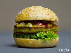 Receita vegetariana e vegana: hamburguer de grão de bico ou falafel burguer - Cozinha sem segredo, por Andre Nogal