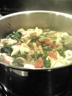 ... Tastes Good: al fresco Sweet Italian Chicken Sausage & Tortellini Soup