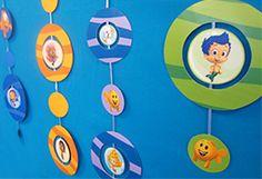 Free Bubble Guppies decoration printables at Nick Jr.