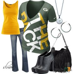 """""""Are You Ready For Some Football?"""" by slmon on Polyvore"""