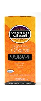 SUGAR FREE CHAI CONCENTRATE: Our best-selling recipe!  A perfect combination of black tea with honey, spices and vanilla in a sugar-free format.  Simply combine concentrate half & half with milk for a traditional chai latte. #oregon #chai #kerry #foodservice