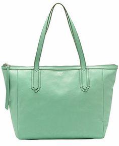 Fossil Sydney Leather Shopper - Fossil Handbags - Handbags & Accessories - Macy's