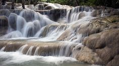 dUNNS RIVER IN JAMAICA...
