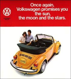 Classic Car News Pics And Videos From Around The World Ferdinand Porsche, Vw Coccinelle Cabriolet, Vw Cabrio, Vw Beetle Convertible, Vw Classic, Automobile, Yellow Car, Import Cars, Car Advertising