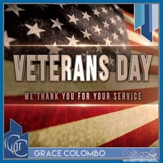Veterans Day is a national holiday in the United States in which the population in which the Armed Forces of the United States. The party takes place on November 11 and coincides with other holidays such as the Day of Remembrance, which is celebrated internationally as the commemoration of the end of the World War #gracecolombo #realtor #realstate #veteransday #localrealtors - posted by Gracecolombo https://www.instagram.com/gracecolomborealtor - See more Real Estate photos from Local…