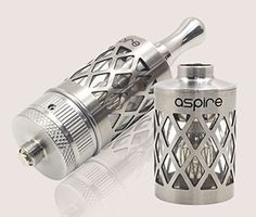 New Aspire Nautilus with Pyrex Tank and Stainless Skeleton Cage