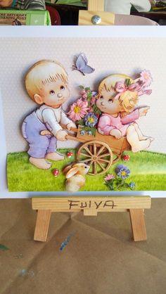 Zeynep'in kağıt rölyef bebekleri-SÜMBÜL ELDEK