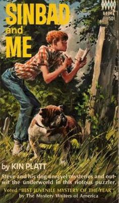 """Sinbad And Me - funny, funny mystery.  A little dated, but an engrossing story lets the reader ignore that.  Might be hard to find since it's an """"old"""" book from the late 60s."""