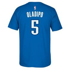 8ab208e4d Men s Adidas Oklahoma City Thunder Victor Oladipo Player Tee