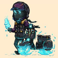 inside that cold, dreadful exterior, is abaddon, a misunderstood young fellow who just wants to help, and share a piece of his MistInc™ Fros. Dota 2 Cosplay, Daft Punk, Kirito, League Of Legends, Chibi, Concept Art, Geek Stuff, Exterior, Videogames