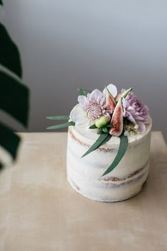 CARDAMOM LAYER CAKE WITH SALTED CARAMEL AND FIGS