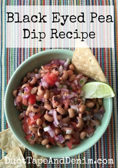 Black Eyed Pea Salsa Dip Recipe, a favorite for game day, tailgating ...