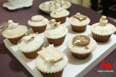Ideias e inspirações para batizado   Macetes de Mãe Shower Party, Baby Shower Parties, Ideas Bautizo, First Communion, Mini Cupcakes, Desserts, Mix, Food, Amanda