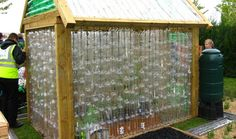 Recycled Self-Sustainable Greenhouse
