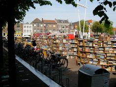 Librería increíble en Leiden, Holanda .