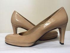 Stuart Weitzman Blog Adobe Aniline Patent Leather Women's Heels Pumps Size 8 N #StuartWeitzman #FashionClassicsHeelsPlatformPumps