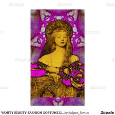VANITY BEAUTY-FASHION COSTUME DESIGNER POSTER
