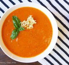 My Favorite Tomato Soup Recipe Ever {Paleo} | Honey Ghee and Me