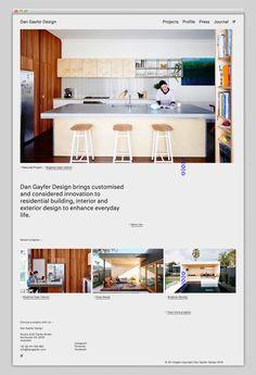 Dan Gayfer Design | Websites We Love — Showcasing The Best in Web Design