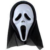 $43.01 HSE Halloween horror mask grimace hoods monolithic whole people screaming devil mask dance festival propsMonolithic... deals