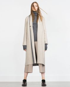 DOUBLE-SIDED COAT-MUST HAVES-WOMAN | ZARA United States