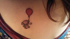 Elephants. They're beautiful. They're kind. And this tattoo is just too adorable! I'be decided I'm getting it just a little bit below my left boob- sort of on my rib, to celebrate the child in me still (: