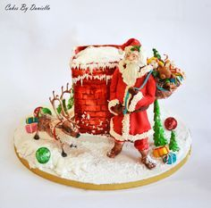 ...Santa Clause is coming to town.... - Cake by daniela