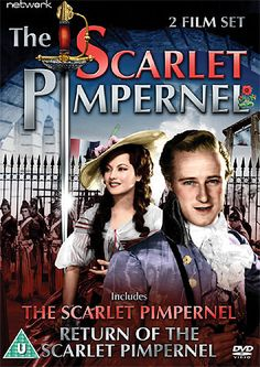 Two film set: The Scarlet Pimpernel, 1934 and The Scarlet Pimpernel Returns, The Scarlet Pimpernel, Love Movie, Great Movies, Eye Candy, Broadway Shows, Heaven, Cinema, Film, Tv