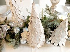 Craftberry Bush: Árvore de Natal de papelão tutorial ...
