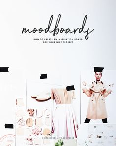 How to create a moodboard in Photoshop, plus three free download templates, Are you stumped on your blogs brand look? Create a Pinterest Moodboard & see your brand come to life!