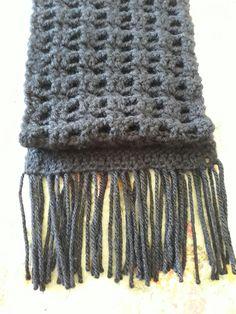 Cachecol masculino em lã
