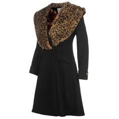 Banned | Banned Fur Collar Coat Ladies | Ladies Jackets and Coats