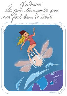 Liberté chérie Good Life Quotes, Life Is Good, Image Positive, Live Love, Journal Inspiration, Illustrations, Futuristic, Feel Good, Stress