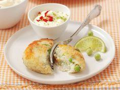 Fischbuletten mit scharfer Limetten-Mayonnaise ist ein Rezept mit frischen Zutaten aus der Kategorie Südfrucht. Probieren Sie dieses und weitere Rezepte von EAT SMARTER!