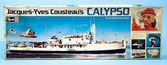 jacques yves cousteau calypso model - Google Search