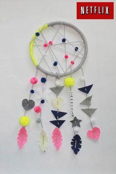 Dream Catcher for kids EASY DIY www.klscrafts.com; www.handmadebykelly.com