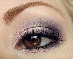 FOTD/EOTD: Amber Eyes, Faerie Fire & Spirit Bond from Femme Fatale Cosmetics