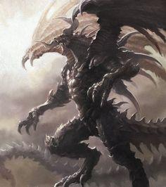 espectacular...Rey de los dragones, Bahamut.