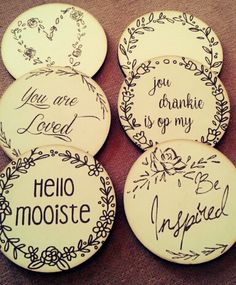 Laser cut and engraved coasters #coasters #engraved #lasercut