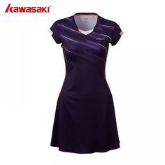Quick Dry Polyester Sports Dress New Kawasaki Female Tennis Dresses with Shorts for Women Girls Netball Clothes FREE Worldwide Shipping Smart Watch Watches Wearables Gifts Men Women iPhone Android Fit Bit Netball, Tennis Dress, Sport Wear, Quick Dry, Sport Outfits, New Dress, Short Sleeve Dresses, Dresses For Work, Shorts